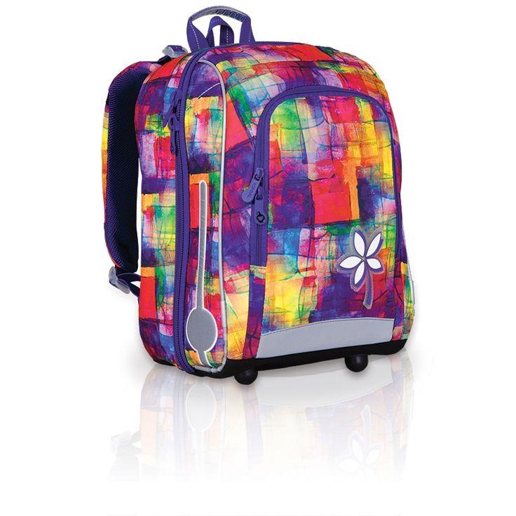 Plecak usztywniany dla dziewczynki Topgal CHI 735