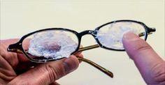 Passe isto nos seus óculos e elimine todas as manchas e arranhões - como se fosse mágica!   Cura pela Natureza