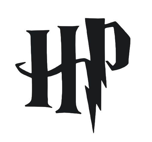 Harry Potter Inspired HP Vinyl Decal by DeCoRePhx on Etsy