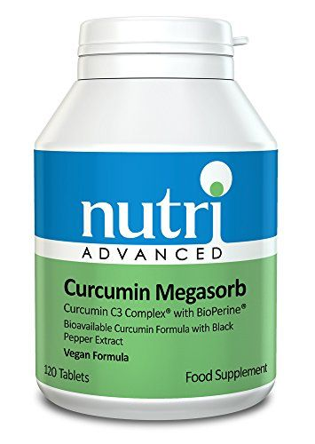 The Product Curcumin Megasorb - 120 Tablets by Nutri Advanced - Curcumin C3 Complex with BioPerine  Can Be Found At - http://vitamins-minerals-supplements.co.uk/product/curcumin-megasorb-120-tablets-by-nutri-advanced-curcumin-c3-complex-with-bioperine/