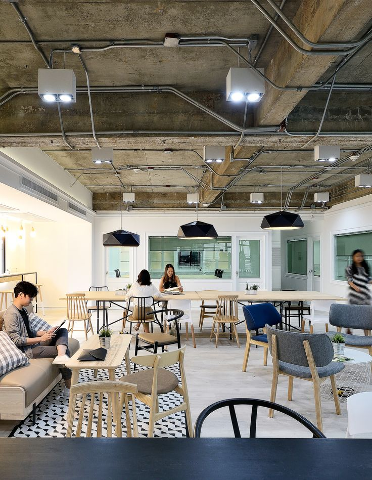 36 best coworking spaces images on pinterest coworking - Interior design office space ...