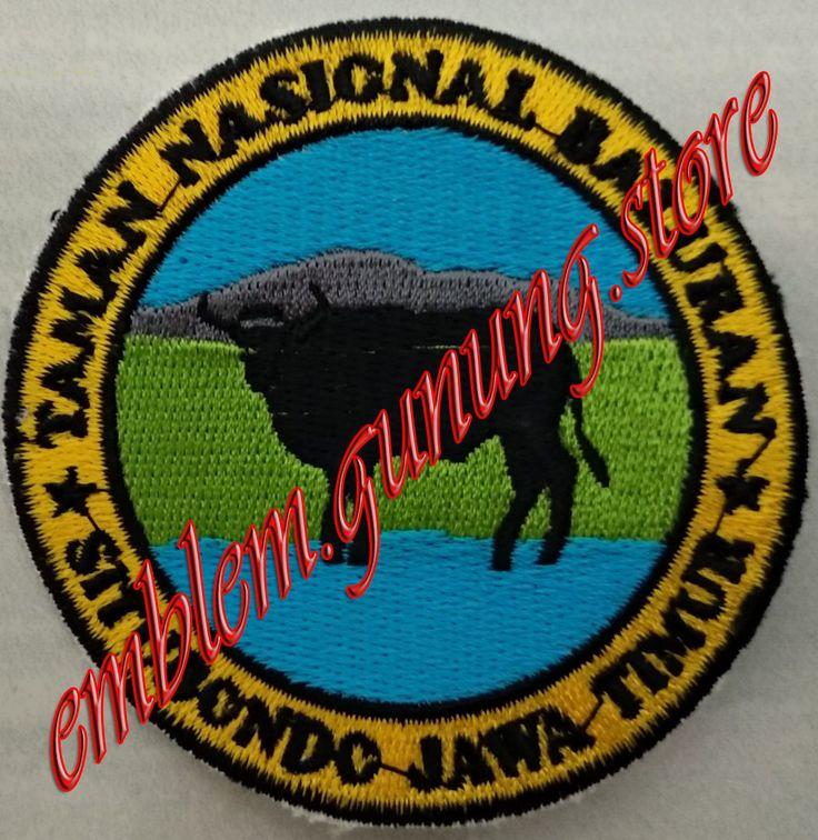 Ready Stock Emblem Taman Nasional Baluran Pemesanan