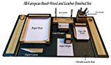 SLK Wood Products All Wood and Leather Office Desk Organizer Set (Pen Stand/Holder Paper Tray Paper Slip Holder Card Holder Paper Weight Paper Cutter)by SLK Wood Products1892% Sales Rank in Office Products: 219 (was 4363 yesterday)(4)Buy: Rs. 4999.00 Rs. 2499.00 (Visit the Movers & Shakers in Office Products list for authoritative information on this product's current rank.)