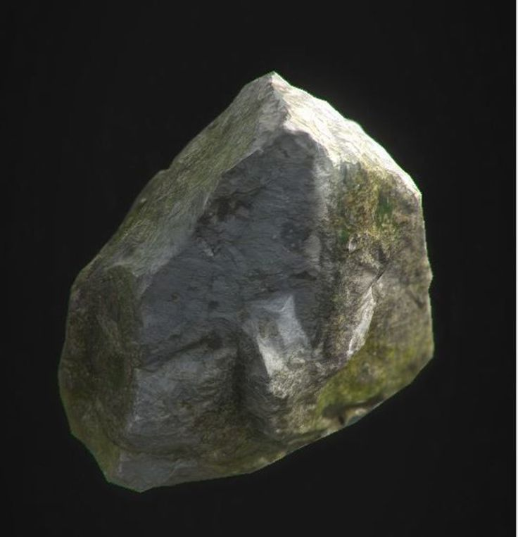 Rock Photogrammetry Baked Down by Michael  Kelly on ArtStation.