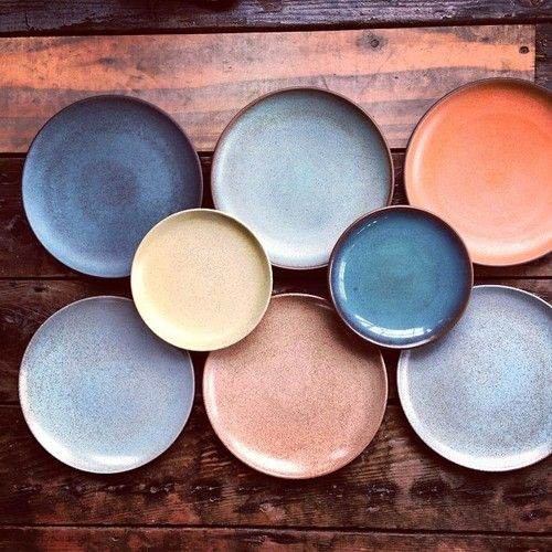 Beautiful color trials, from the archives. (at Heath Ceramics)