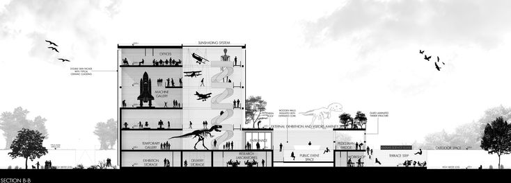 TARI-Architect's Entry Proposal for Lithuania's Science Island,Courtesy of TARI-Architects