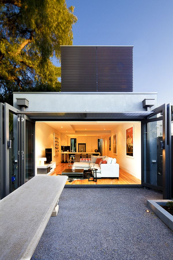 SOUTH YARRA RESIDENCE by Perrett Ewert Leaf Architects , via Behance