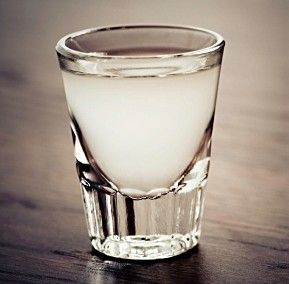 The Kamikaze Shot Recipe.  vodka, triple sec, lime juice