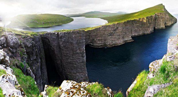 Magiczne złudzenie optyczne z Wysp Owczych