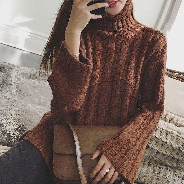 latest Autumn winter Korean fashion trend elegant cardigan knitting sweater coat