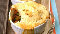 Make it a meal-in-one with this recipe for traditional lamb potpie, which yields eight individual servings (or two large pies instead). If you like, you can replace the lamb with ground beef.Recipe: Shepherd's Pies