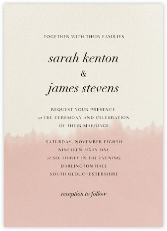 Sidestep Tradition With Indie Wedding Invitations That Bring A Unique  Vision Of Romance To Your Singular Ceremony.