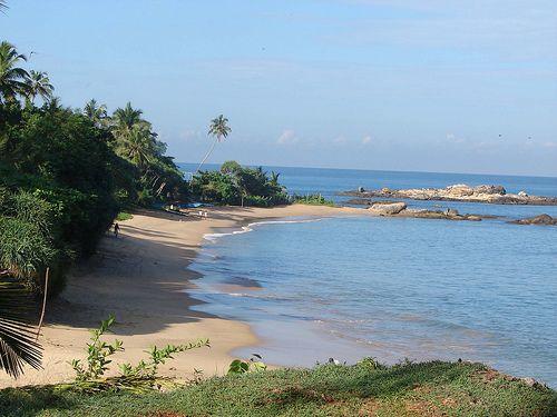 Beach at Beruwala, Sri Lanka