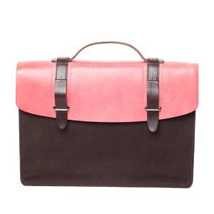 Dimitri Briefcase Pink
