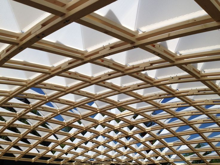 1000 Images About Timber Gridshell On Pinterest