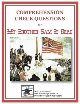 an analysis of book review in my brother sam is dead by james and christopher collier Book trailer for the novel my brother sam is dead by james lincoln collier project for te 530 sdsu summer 2016 created by matt barger.