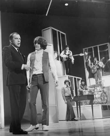 Tommy James and the Shondells in 1969 on the Ed Sullivan Show