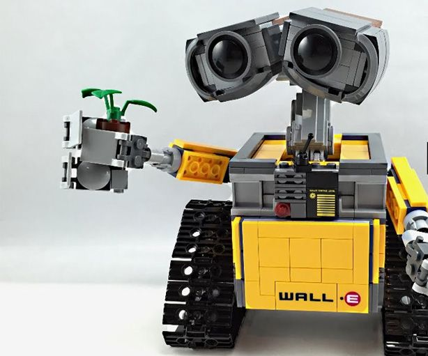 1000 ideas about lego wall e on pinterest lego lego. Black Bedroom Furniture Sets. Home Design Ideas