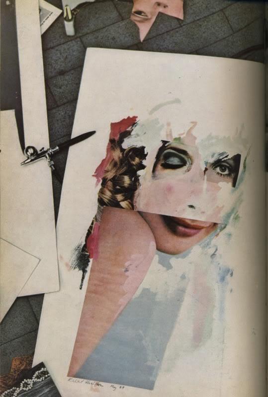 Richard Hamilton collage art Progress