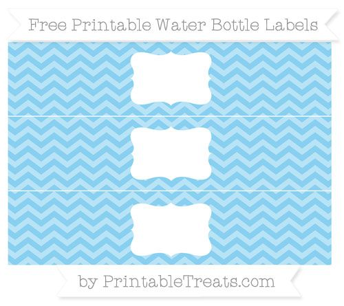 Intrepid image in free printable water bottle labels for baby shower