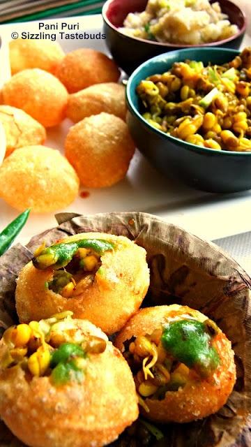Pani Puri | Mumbai street food delight | Quick Kids Snacks