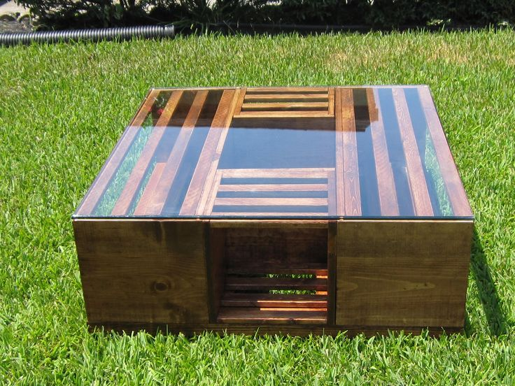 Coke Crate Coffee Table Google Search For The Garage
