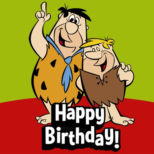Fred and Barney Happy Birthday...:)