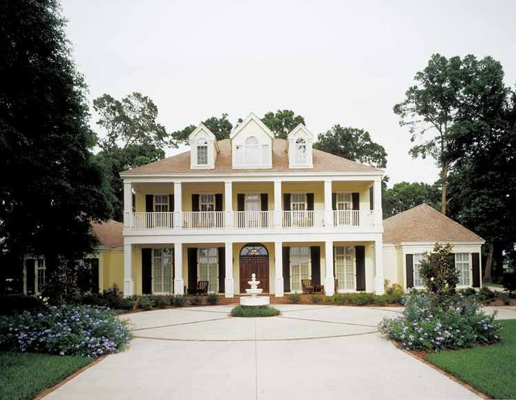 neoclassical house plan with 5474 square feet and 4 bedrooms from dream home source house - Plantation Homes Designs