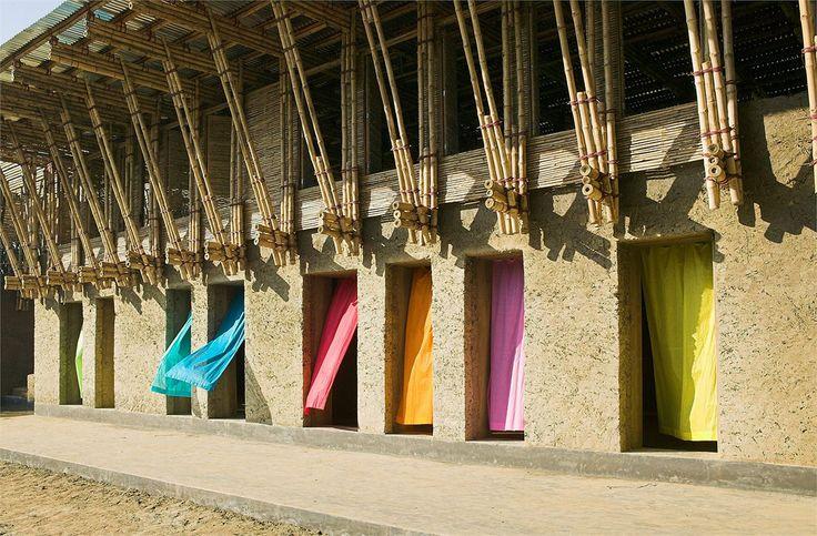 準建築人手札網站 | Forgemind ArchiMedia | Anna Heringer, Eike Roswag - METI School in Rudrapur, Bangladesh 德國建築師在孟加拉手工打造的竹構造學校
