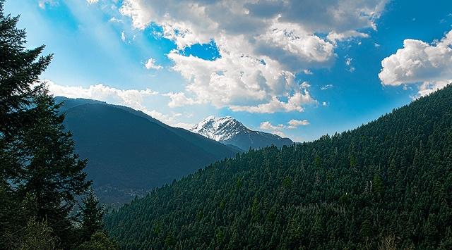 View of Velouchi from Voutiro, Karpenisi