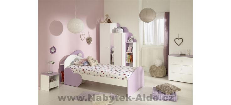 Dětský pokoj pro holku Mila II-2510