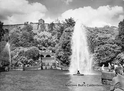 Castle Carr Gardens in 1947