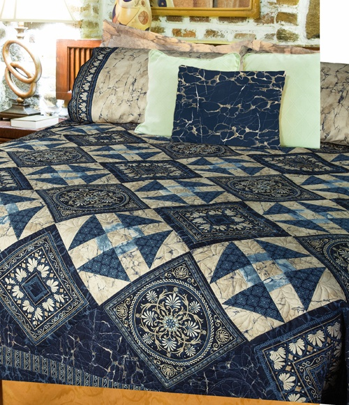 """""""Aphrodite"""" by Patti Carey (from Quilt Trends Winter 2013 issue)"""