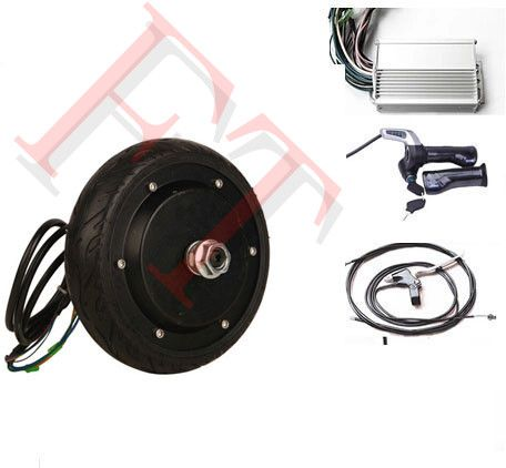 """6"""" 350W 24V electric scooter motor kit , electric wheel hub motor for wheelchair  ,electric motor for skateboard"""