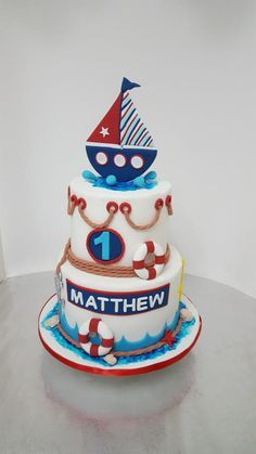 Sailor cake by Tascha's Cakes