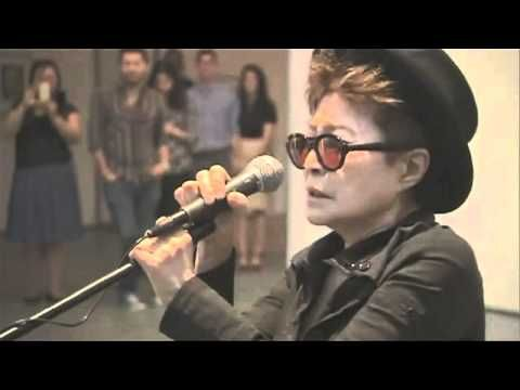 Yoko Ono Screaming at Art Show! (Original) - JL would have been proud
