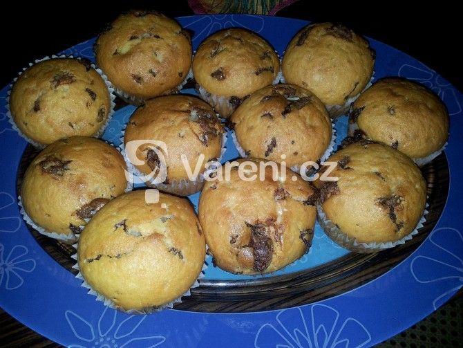 Rychlý recept na vynikající nadýchané muffiny.