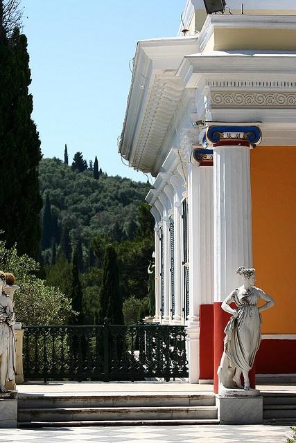 corfu, greece -- Castle princess Sisi