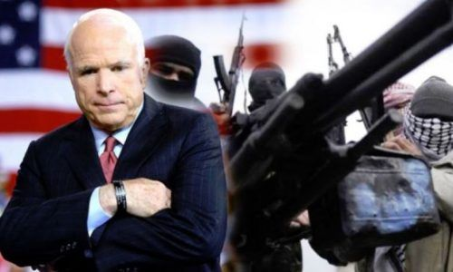 John McCain Illegally Travels To Syria, Meets With Leaders And Fighting Groups; No Criticism From MSM - https://therealstrategy.com/john-mccain-illegally-travels-to-syria-meets-with-leaders-and-fighting-groups-no-criticism-from-msm-2/