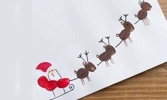 Kerstkaarten met je kinderen maken, nog nooit zo leuk geweest!