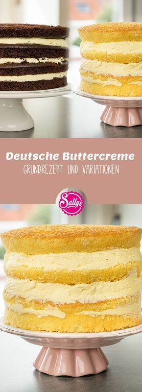 Con la ayuda de esta receta básica, la crema de mantequilla le sucederá en cualquier momento. Usted puede …   – Backen