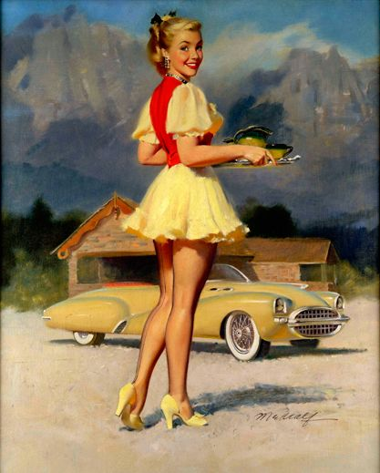 1000 Images About Vintage Pin Up Art On Pinterest  Pin -1778