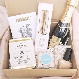 Engagement Gift Box, Bridesmaid Gift Box, Bridesmaid Proposal