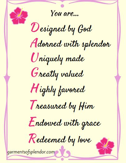 Check out this free printable to remind yourself that you are a beautiful daughter of the King!
