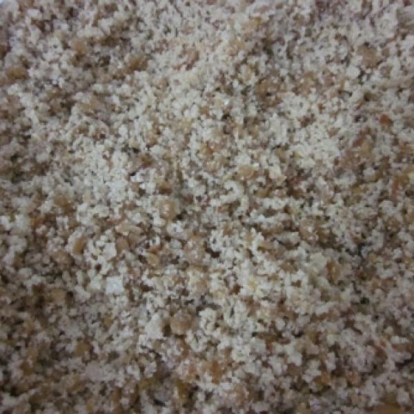 Receita de Farofa de Soja - 1 Copo (200ml) de soja texturizada, 1 Sopa Creme de Cebola, 1 Copo (200ml) de Óeo de Canola ou Milho, 1 Copo (200ml) de Farinha t...