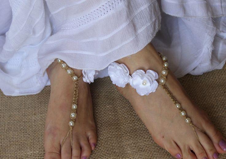 Sandália Pés Descalços Casamento Praia | O Santo Casamento | Acessórios | Elo7