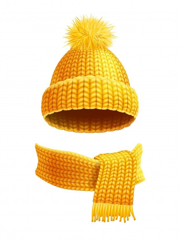 Download Knitted Hat And Scarf Flat Illustration For Free Knitted Hats Flat Illustration Business Icons Vector