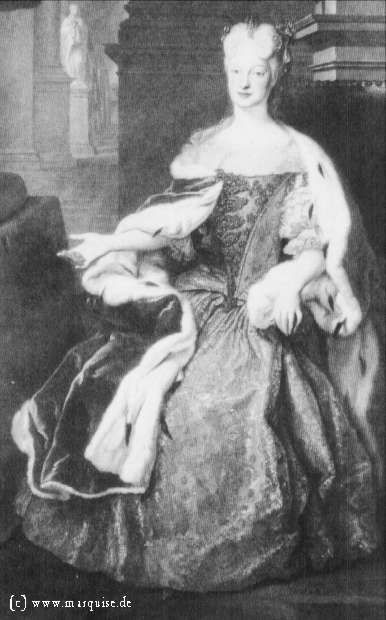 Maria Josepha of Poland by Louis de Silvestre, 1719  Gemäldegalerie Alte Meister, Dresden