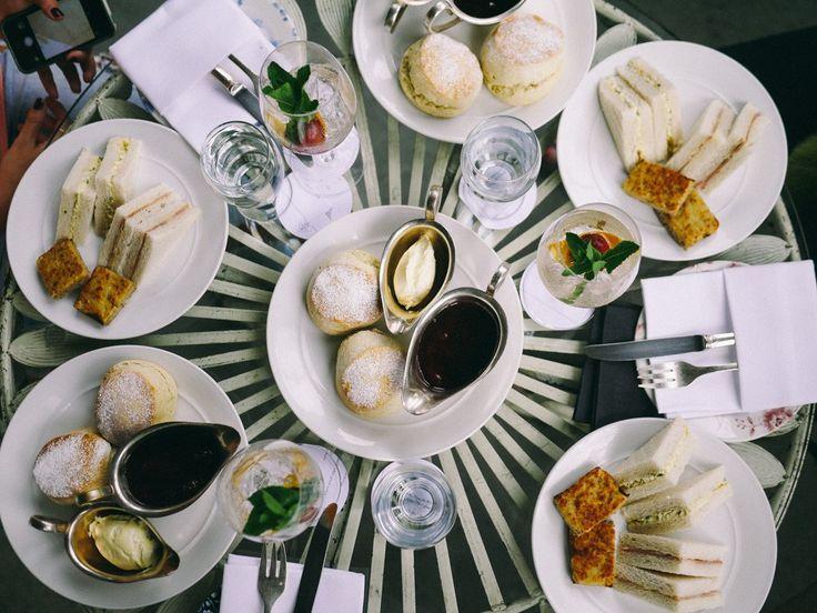 Cream tea and cocktails at Gilbert Scott