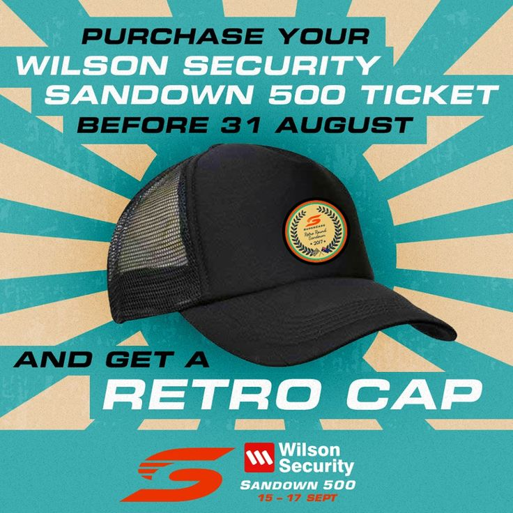 Free hats for V8 Supercar fans